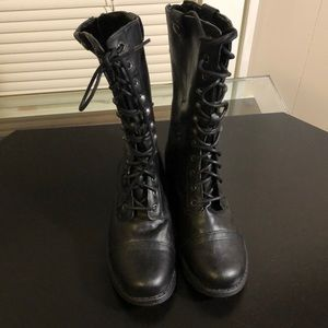 Madden Girl Size 6 Zorbba Lace Up Boots Never Worn